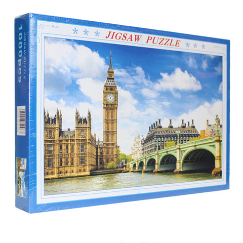 Scenic View London City Big Ben 1000 Pieces Jigsaw Puzzles