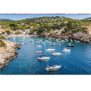 Spain City Cala Vadella Beach Coastal 1000 Pieces Jigsaw Puzzles