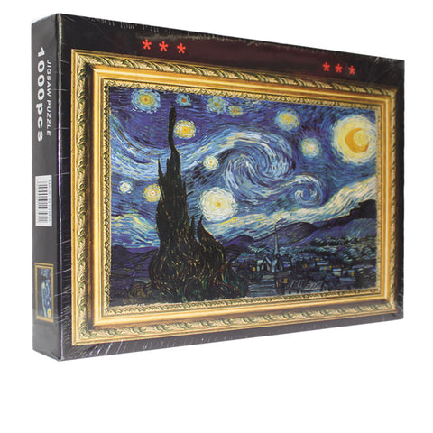 Van Gogh Starry Night 1000 Pieces Jigsaw Puzzles