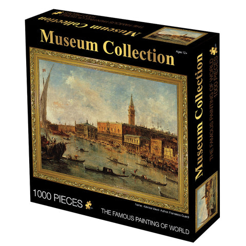 Venice The Doges Palace and The Molo Art 1000 Pieces Jigsaw Puzzles