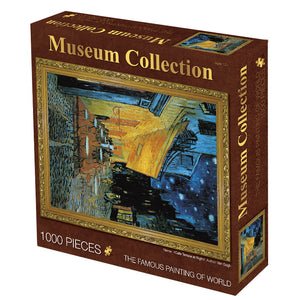 Vincent Van Gogh Cafe Terrace at Night 1000 Pieces Jigsaw Puzzles