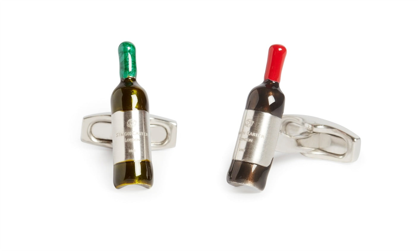 Cuffs Simon Carter Red And White Wine Bottle サイモンカーター カフス ヴィンテージワイン