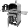 Pacific Living 430 Stainless Steel Oven W/ Cart - ForteFinds
