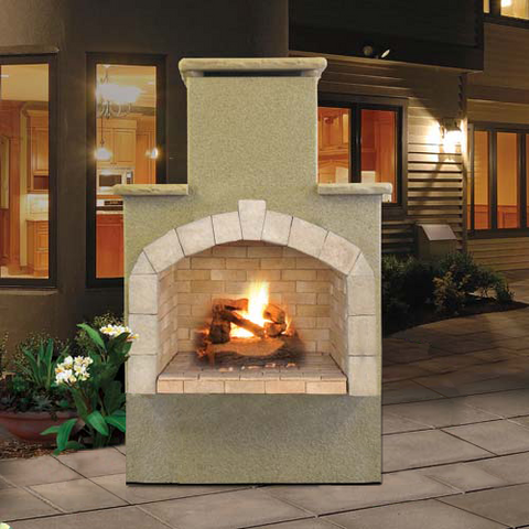 Cal Flame's Outdoor Fireplace (Gas Only) #FRP908-1