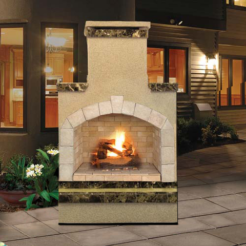 Cal Flame's Outdoor Fireplace (Gas Only) #FRP908-2