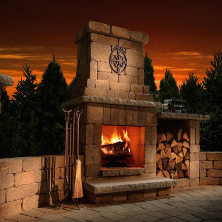 Rockwood Colonial Fireplace (Woodburning Only)