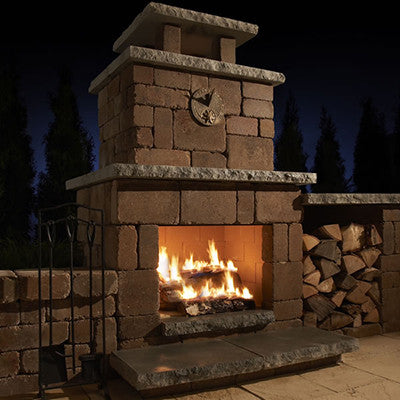 Rockwood Compact Fireplace (Woodburning Only)