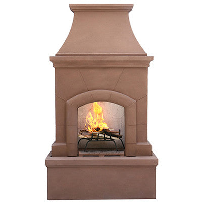 Pacific Living Wood Fireplace (Gas Optional) - ForteFinds