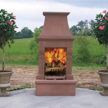 Pacific Living Wood Fireplace (Gas Optional)