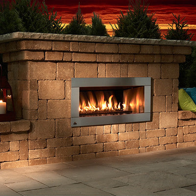 Rockwood (Gasburning Only) Contemporary Fireplace
