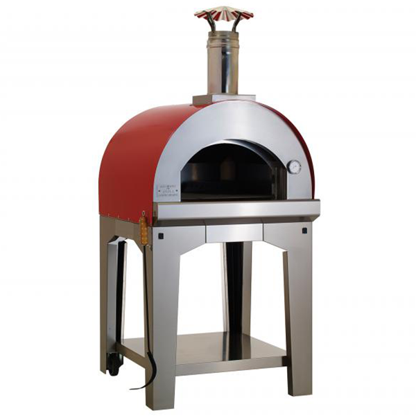 Bull Pizza Oven W/Cart Large - ForteFinds