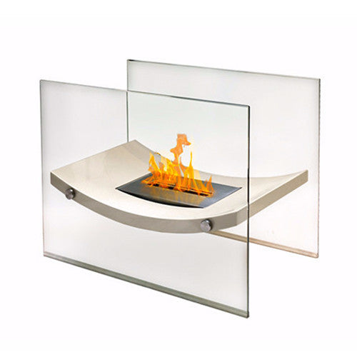 Anywhere Fireplace Floor Standing - Broadway - ForteFinds