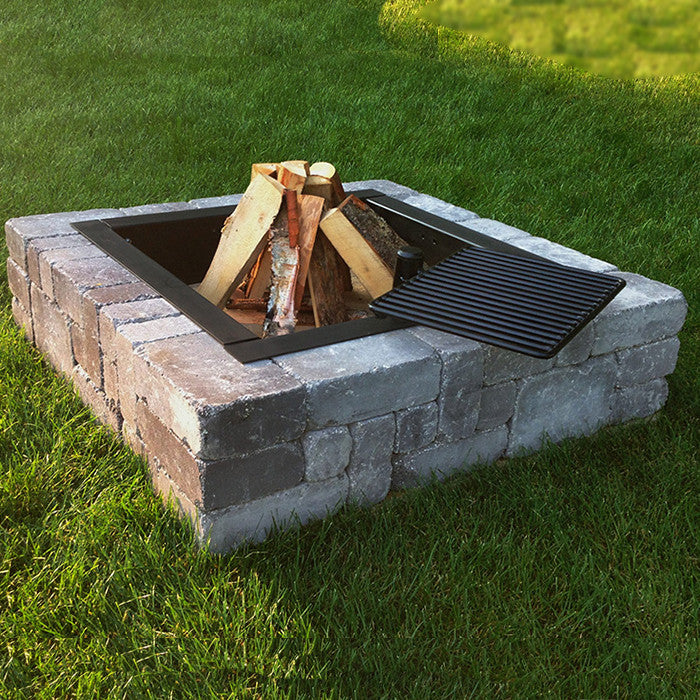 Necessories Victorian Fire Pit W/Grate - ForteFinds