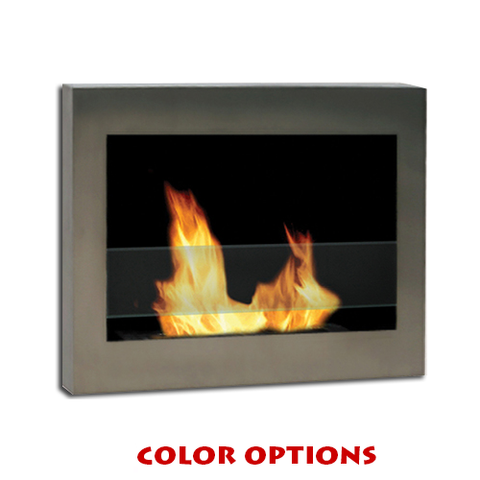 Anywhere Fireplace Indoor Wall Mount - SoHo