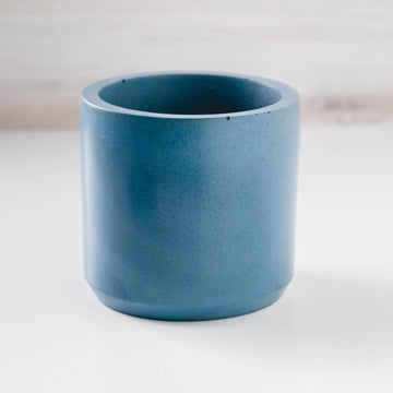Large Cylinder Vessel - Blue Spruce