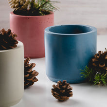 Load image into Gallery viewer, Large Cylinder Vessel - Blue Spruce