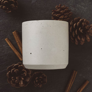 Alpine Fir - Large Cylinder Candle - Natural