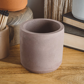 Large Cylinder Vessel - Latte