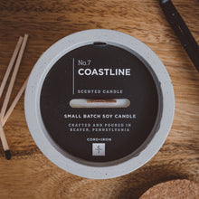 Load image into Gallery viewer, Coastline - Cement Candle