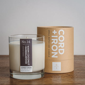 Warm Coconut + Sandalwood - Candle