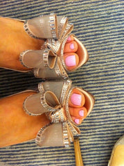 shoes pink nails pinknails fashionnails prettyshoes pretty style girlsfashion summernights