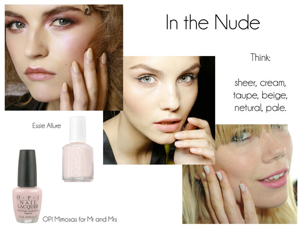 nude nails summer fashion nailfashion nailtrend celebritynails sheer cream taupe beige neutral pale