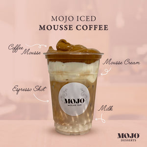 Dalgona Iced Mousse Coffee