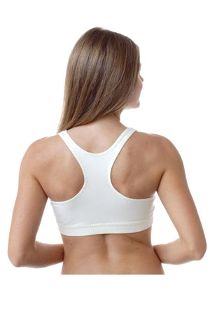 Majamas Organic Cotton Padded Sporty Bra