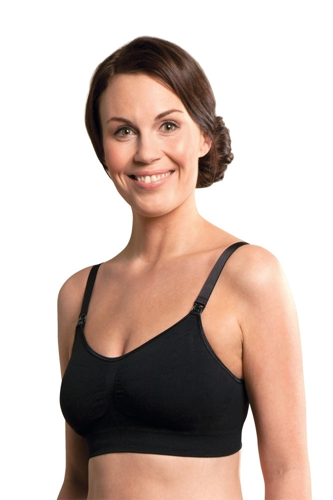 Carriwell Seamless Padded T-Shirt Nursing Bra
