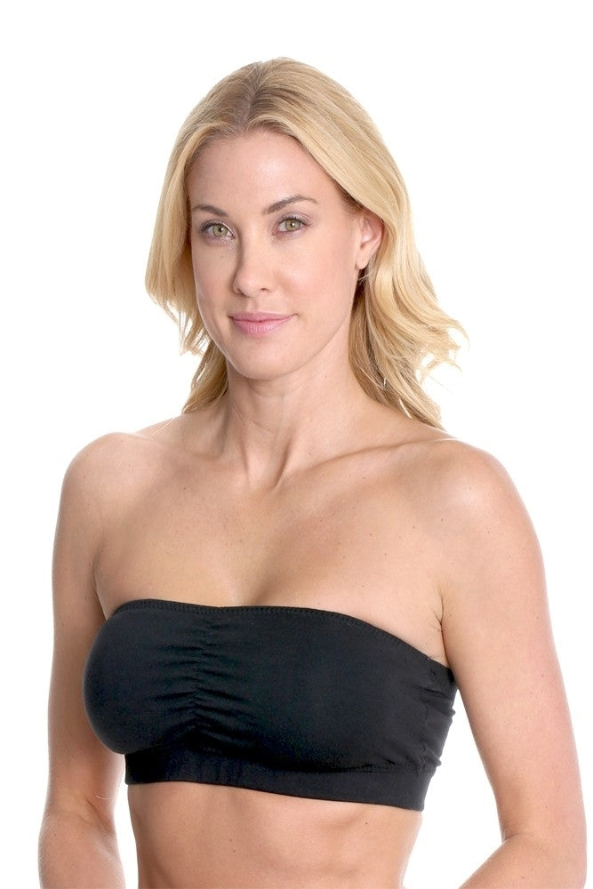 Majamas Cabrio Organic Cotton Padded Strapless Nursing Bra