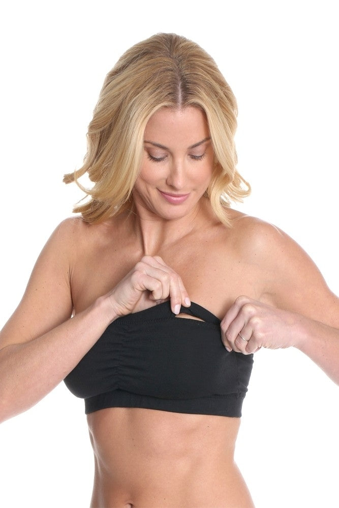 Majamas Cabrio Organic Cotton Padded Strapless Nursing Bra - Sold Out