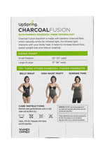 UpSpring Charcoal Fusion Postpartum Belly Slimming Boyshort