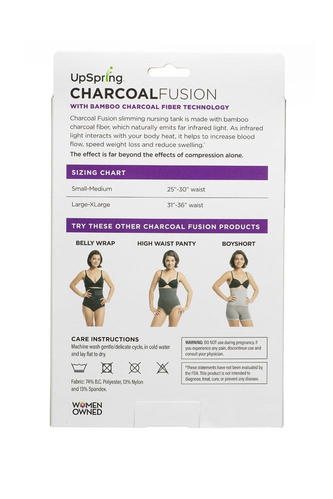 UpSpring Charcoal Fusion Post Pregnancy Slimming Nursing Tank