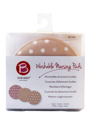 Bravado Designs Washable Nursing Pads - 3pairs