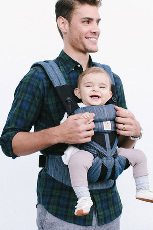 Ergobaby Omni 360 Cool Air Mesh Carrier Indigo Weave - Sold Out