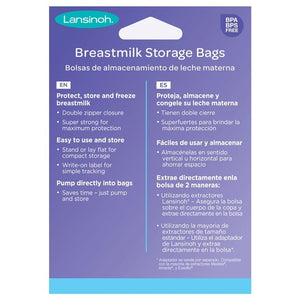 Lansinoh® Breastmilk Storage Bags - 50 Count