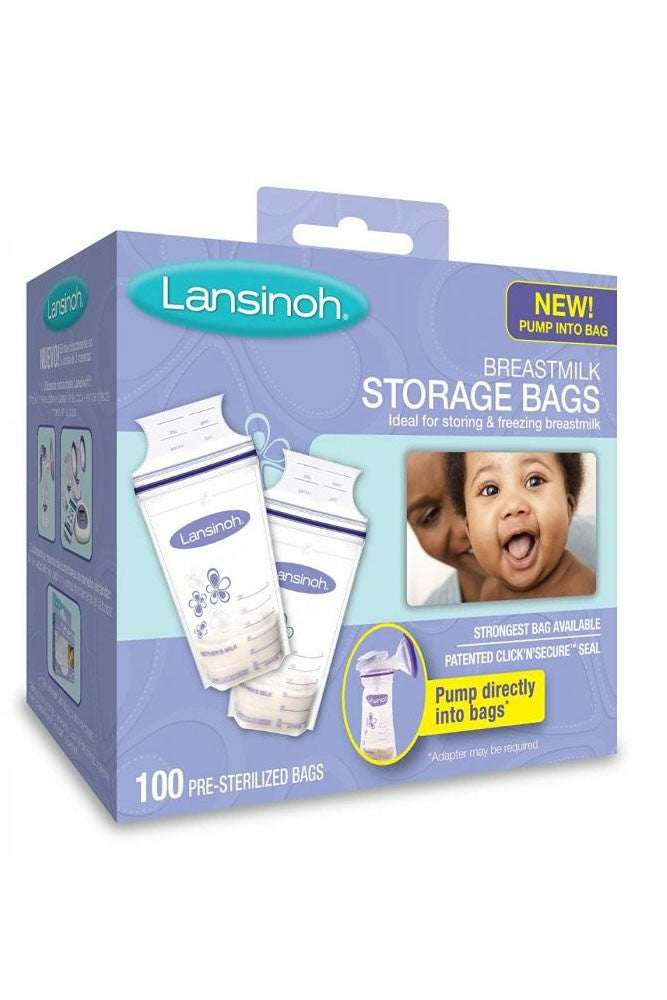 Lansinoh® Breastmilk Storage Bags - 100 Count