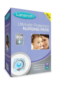 Lansinoh® Ultimate Protection Disposable Nursing Pads - 50 Count