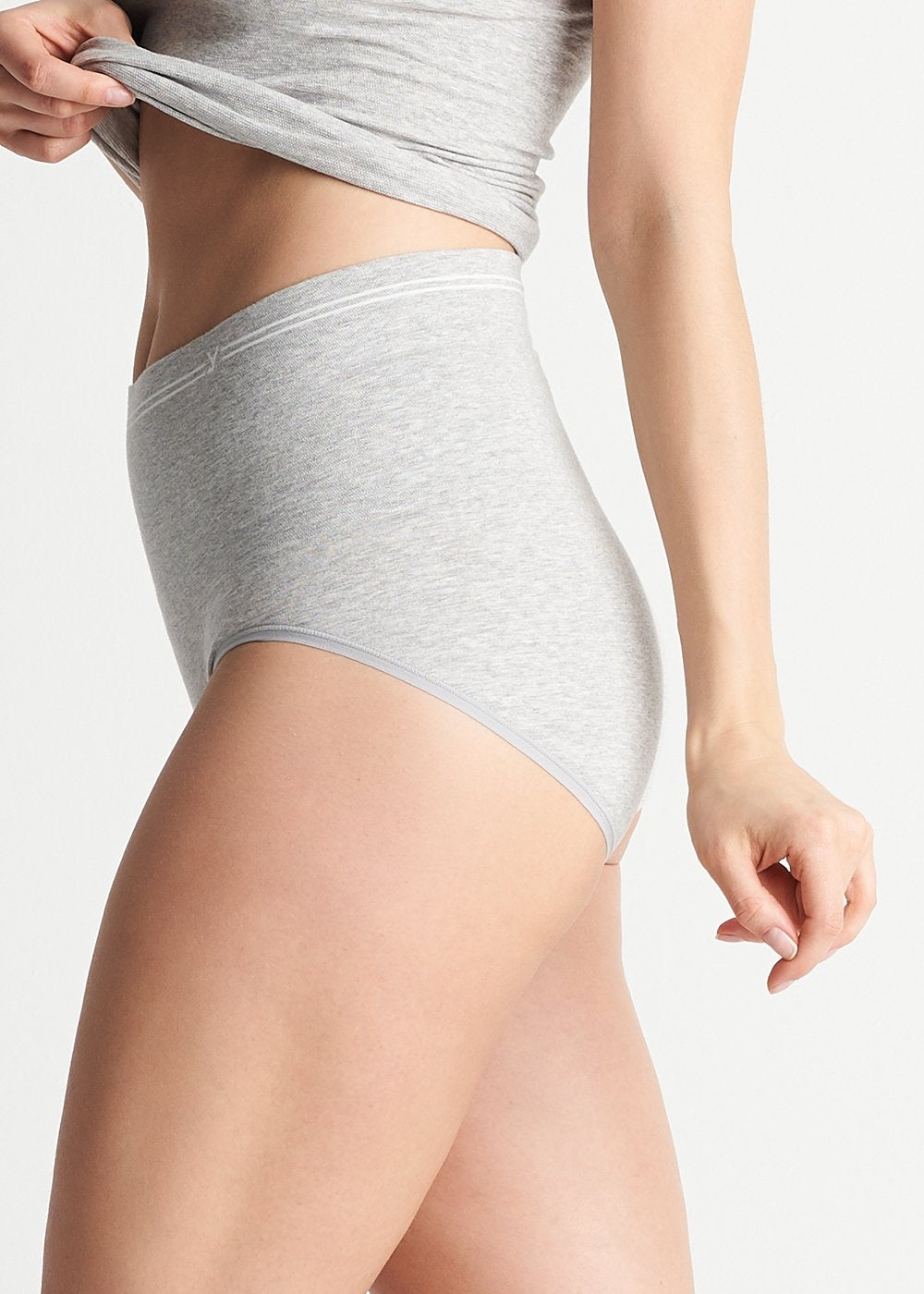 Yummie Tummie Cotton Seamless Shaping Brief