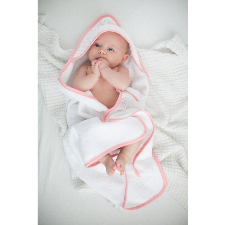 Swaddle Designs Cotton Muslin & Terry Hooded Towel