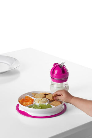 OXO Tot Stick & Stay™ Suction Divided Plate