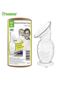 Haakaa Gen 2 Silicone Breast Pump with Suction Base (5 oz / 150 ml)