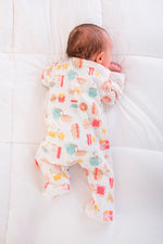 Magnetic Me 100% Organic Cotton Magnetic Baby Footie - Better Together