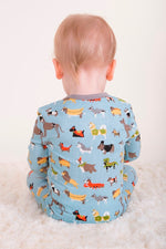 Magnetic Me 100% Organic Cotton Magnetic Baby Footie - In-Dog-Nito