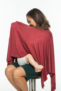 Cotton Nursing Poncho (Sold Out)