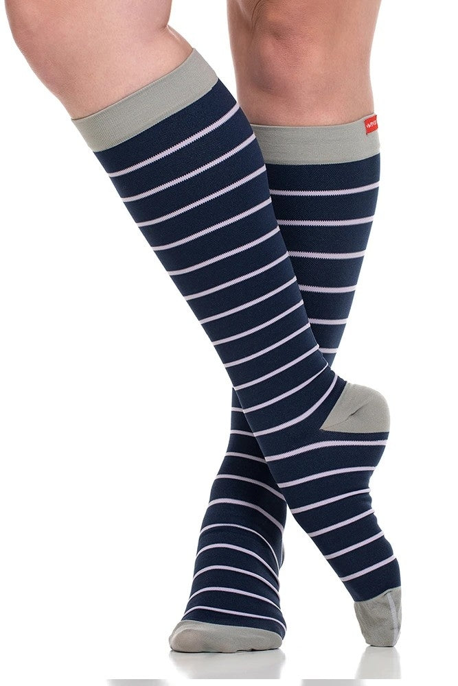 Vim & Vigr 15-20 mmHg Graduated Compression Socks - Nylon