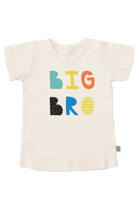 Finn + Emma Organic Cotton Graphic Tee - Big Bro