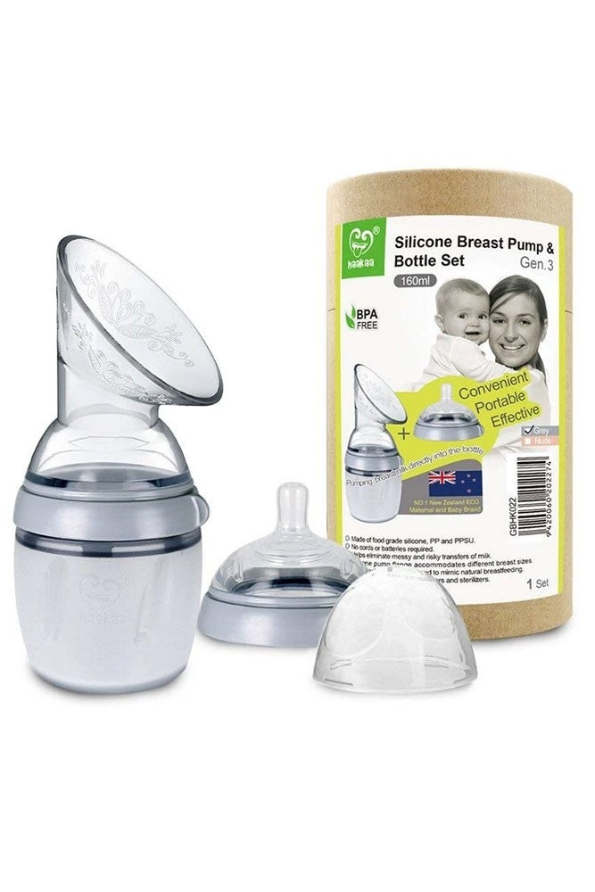 Haakaa Gen 3 Silicone Breast Pump and Bottle Set 160 ml