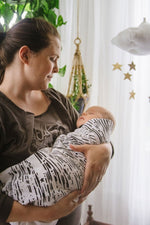 Baby Jives Co Organic Cotton Baby Swaddle - Starlight