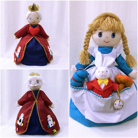 Alice in Wonderland Doll - Upside Down Toy Handmade in Thailand by the Fatima Centre | Shop Ethical Gifts for Children at ONLY JUST |